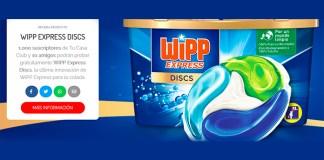 Prueba gratis WiPP Express Discs con TestaClub