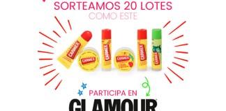 Sortean 20 lotes Carmex en Glamour
