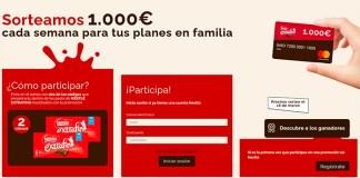 Nestlé Extrafino sortea 1.000 euros a la semana