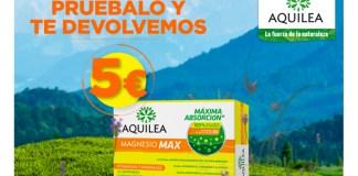 Reembolso de 5 € en Aquilea Magnesio Max