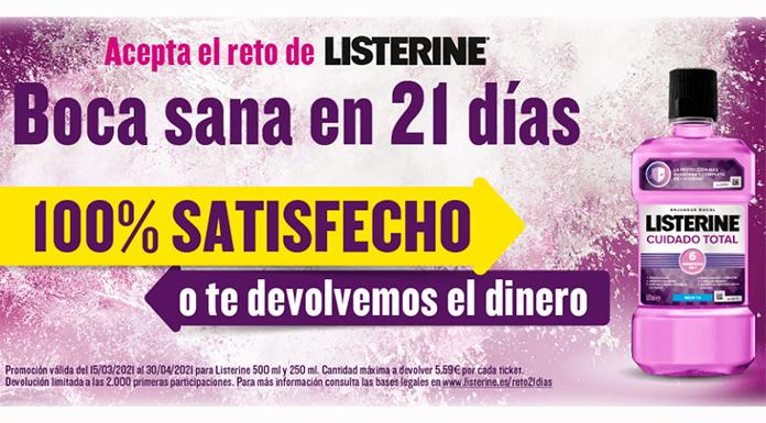 Reto 21 días Listerine