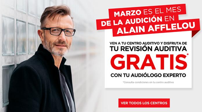 Revisión auditiva gratis con Alain Afflelou Audiólogo