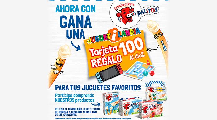 Gana una tarjeta regalo de Juguetilandia con Palitos La Vaca que ríe