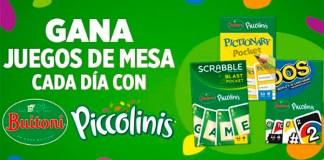 Juegos de mesa cada día con Piccolinis de Buitoni