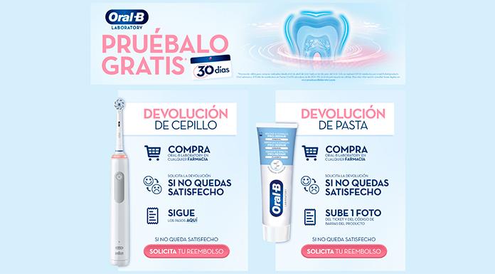 Reembolsos Oral B Laboratory
