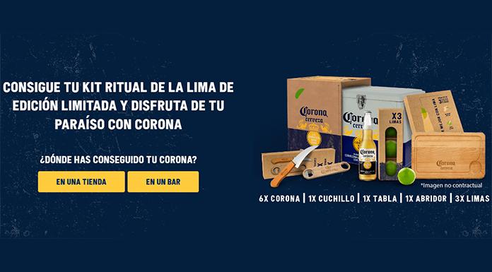 Sorteo de 600 kits ritual de la lima de Corona
