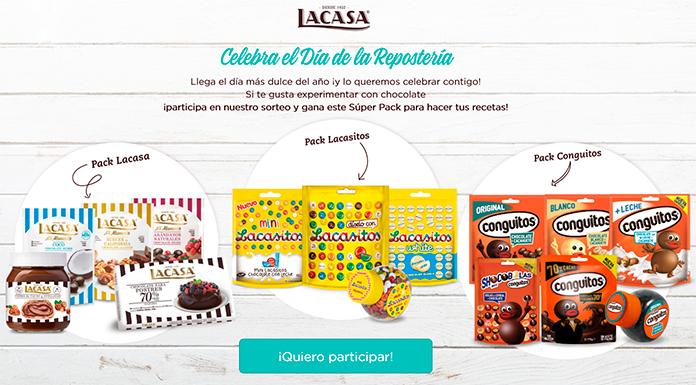 Gana un súper pack Lacasa para hacer tus recetas