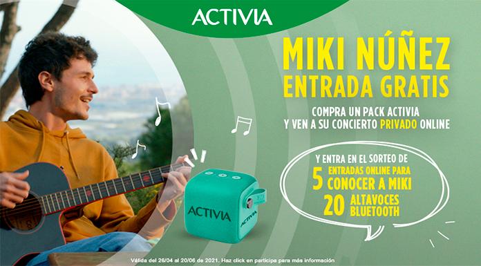 Llévate una entrada gratis al concierto de Miki Núñez