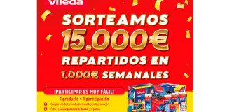 Vileda sortea 15.000 €
