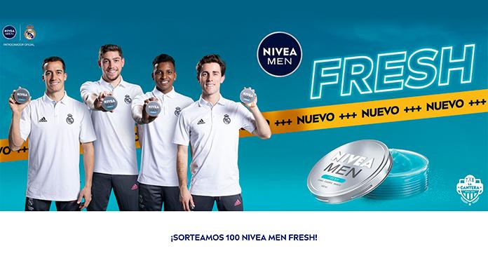 Sortean 100 latas de Nivea Men Fresh