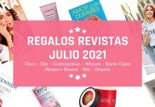 Regalos Revistas Julio 2021