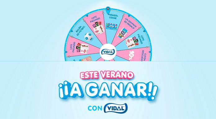 Gana un regalo seguro con Vidal