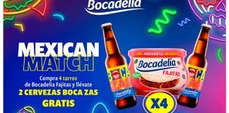 Gratis cervezas Boca zas con Bocadelia Fajitas