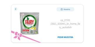 Muestras Gratis de Fairy Platinum