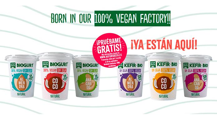 Prueba gratis Biogurt y Kéfir Bio NaturGreen