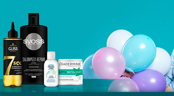 Consigue un lote de productos Henkel en tu cumpleaños