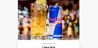 Oferta exclusiva de Red Bull