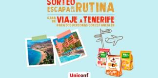 Sorteo de un viaje a Tenerife de Uniconf