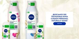 Buscan 200 testadoras Nivea Cuidado Personal Naturally Good