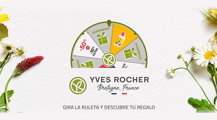 Gira la ruleta de Yves Rocher