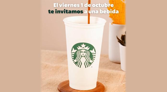 Starbucks te invita a una bebida