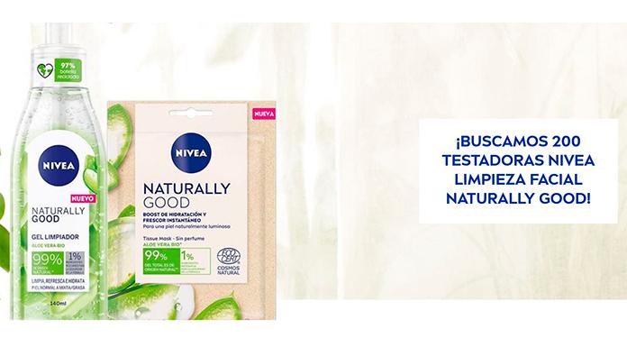 Buscan 200 testadoras Nivea Limpieza Facial Naturally Good