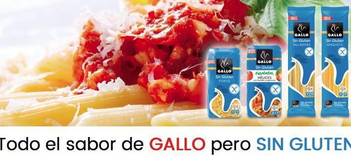 Prueba gratis la nueva pasta sin gluten de Gallo
