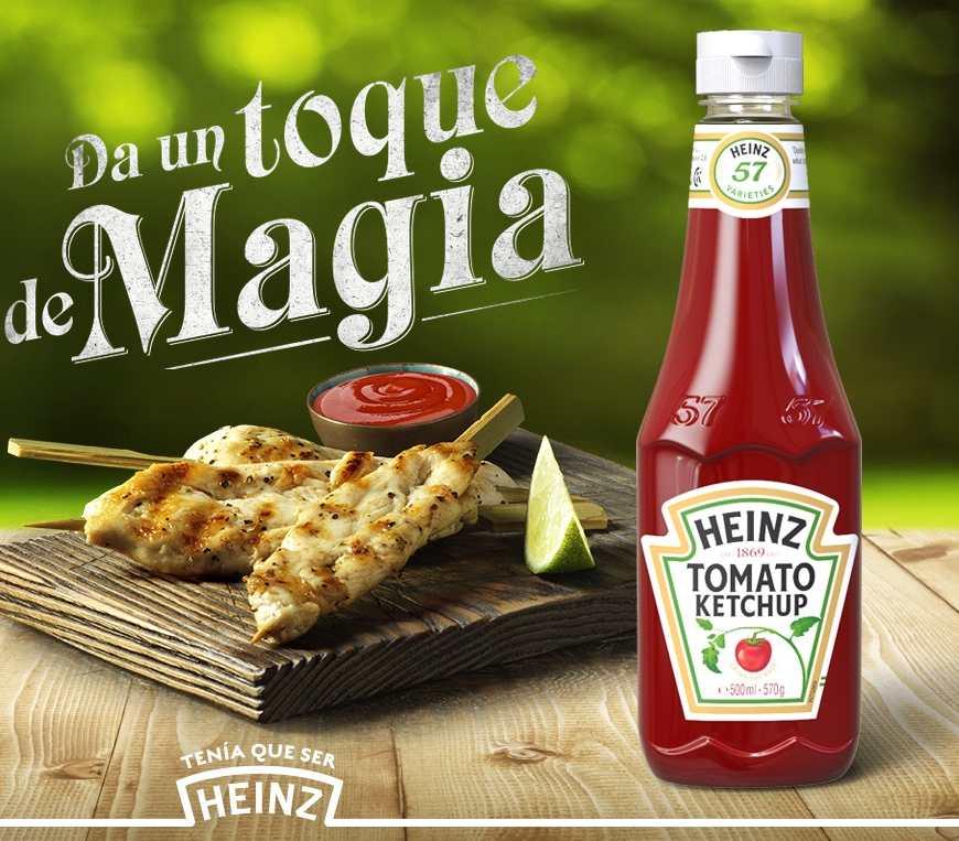 Descuento para probar el tomate Heinz