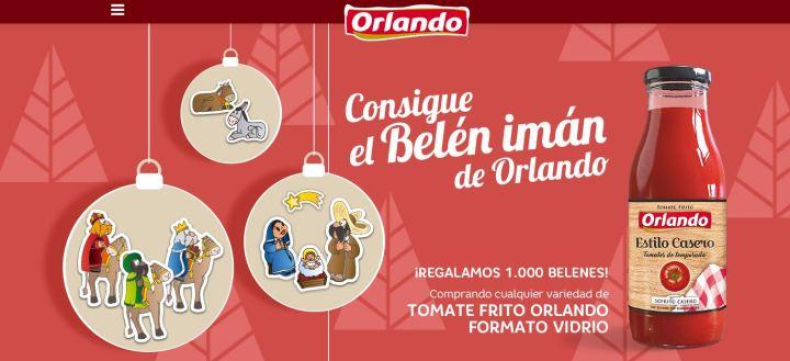 Orlando regala un belén imán gratis estas Navidades