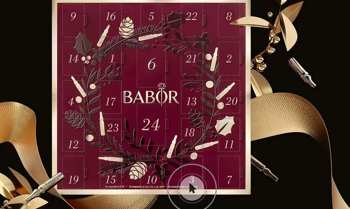 Calendario de adviento Babor