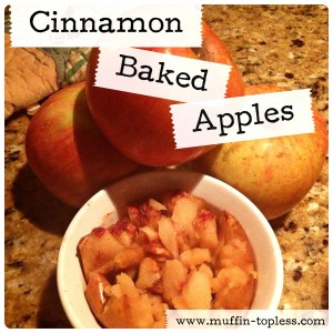 Healthy Cinnamon Baked Apples