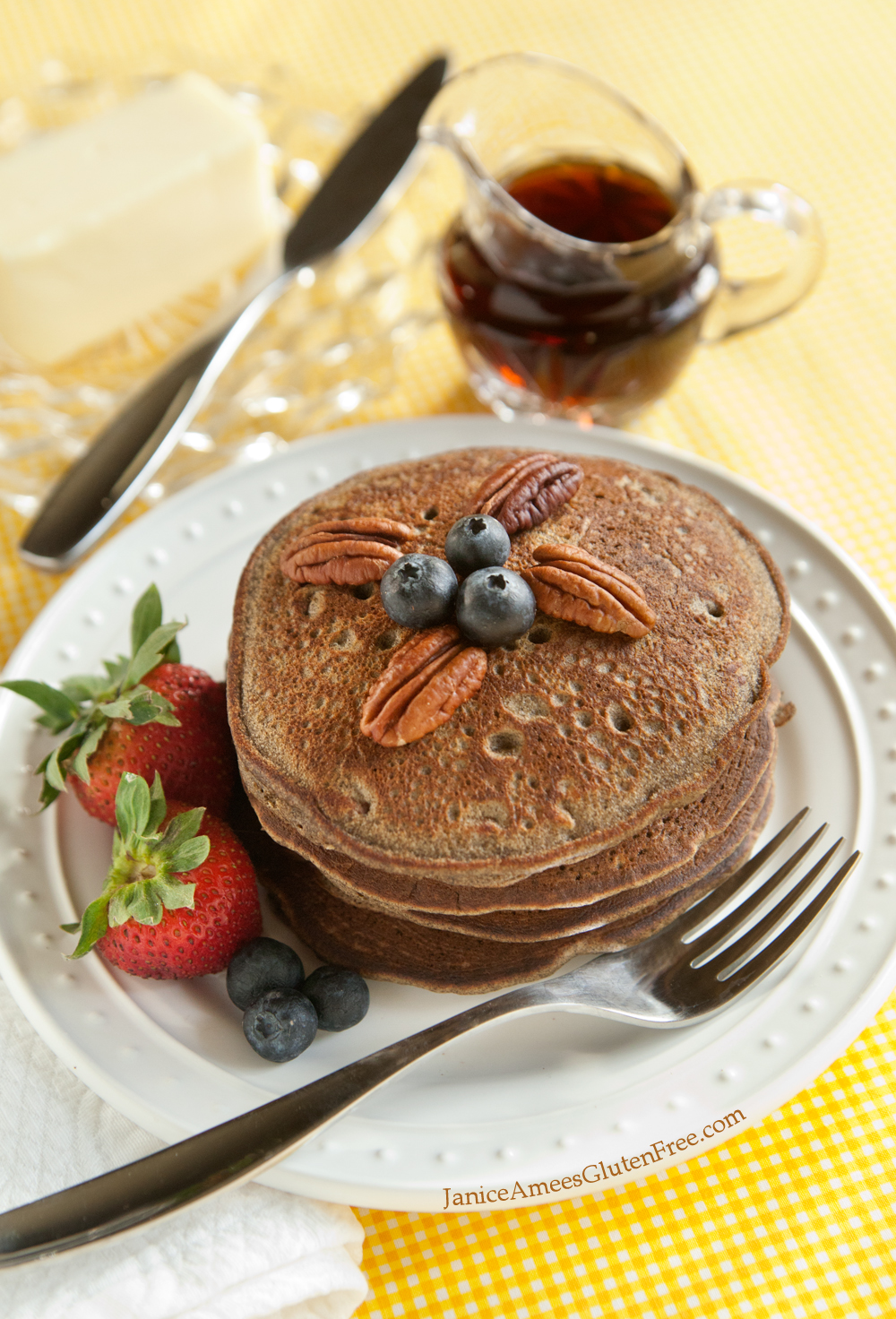 Amazing Gluten-Free Buckwheat Banana Pancake Recipe... Pin now, save for later!