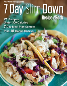 7-Day Slim Down Recipe eBook