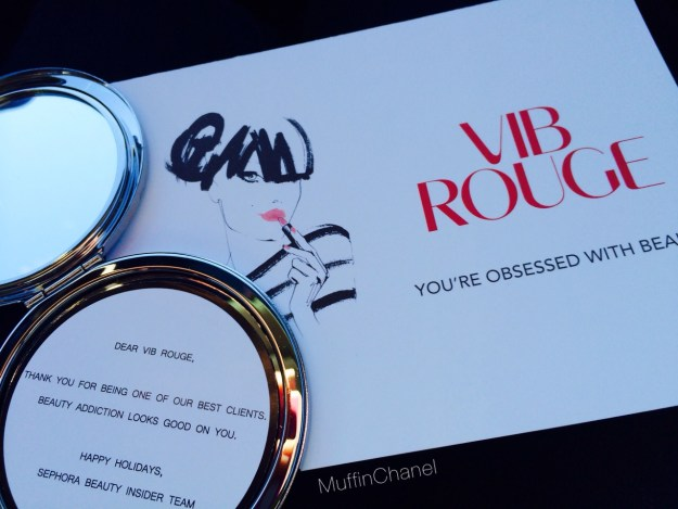 muffinchanel vib rouge vibr special surprise gifts vib sephora free