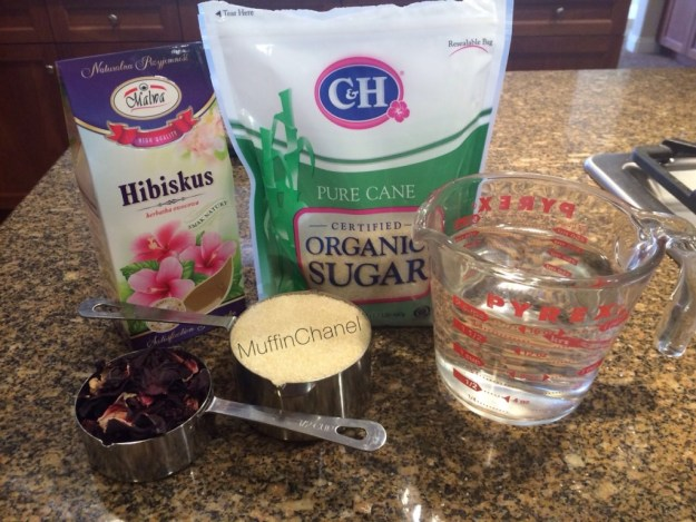 Berry Hibiscus Refresher DIY Recipe muffinchanel muffinchanel very berry hibiscus refresher make your own green coffee extract flowers