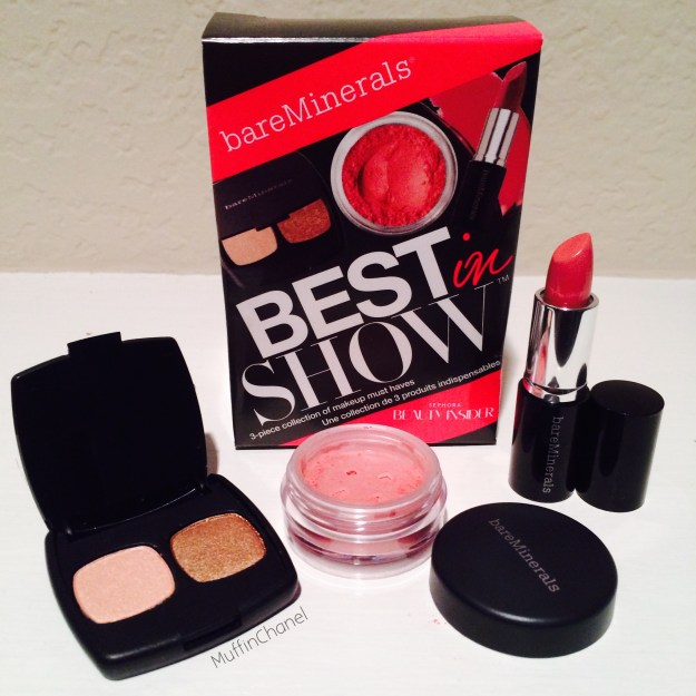 MuffinChanel Sephora VIB Rouge Birthday Haul 2014 bare minerals best in show free set gift with purchase