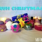 Lush Christmas   2014 Lush Haul
