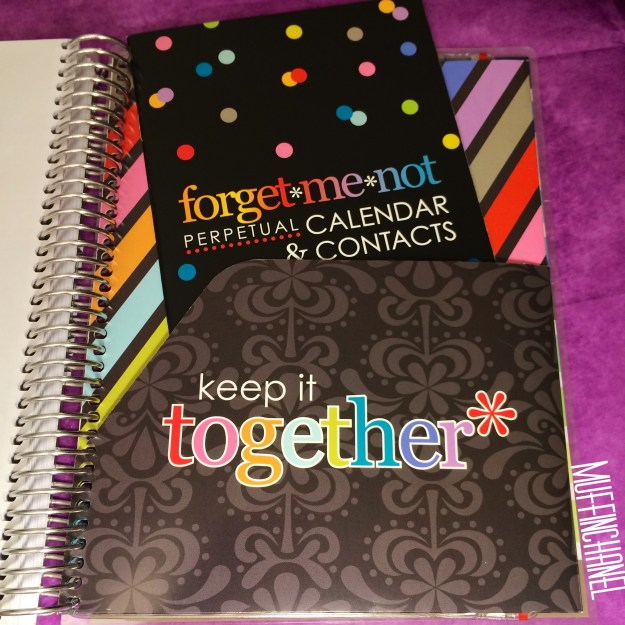 muffinchanel erin condoner life planner 2015 review stripes covers clips calendar wash tape spiral bound 2014 vs 2015 party pops stripes zen gems jolly jester ruler pouch folder