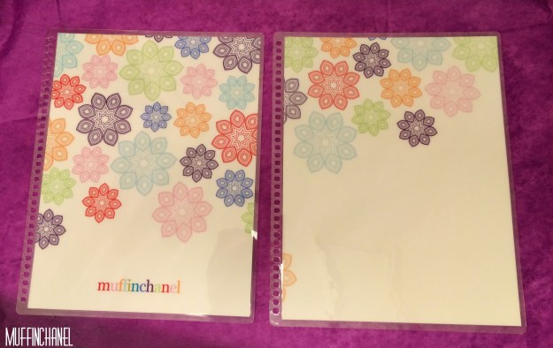 muffinchanel erin condoner life planner 2015 review stripes covers clips calendar wash tape spiral bound 2014 vs 2015 party pops stripes zen gems