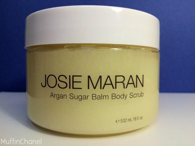 muffinchanel josie maran argan sugar scrub