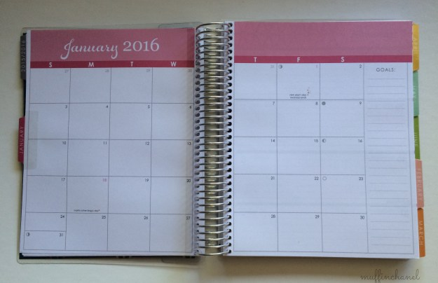 muffinchanel 2016 erin condren life planner life planner horizontal layout 2015 comparison + review january calendar