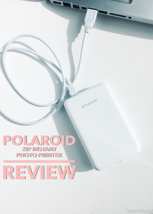 Polaroid Zip Instant Photo Printer Review Muffin Chanel