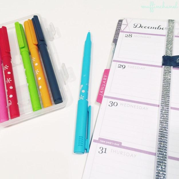 muffinchanel erin condren accessories planning party pops pens