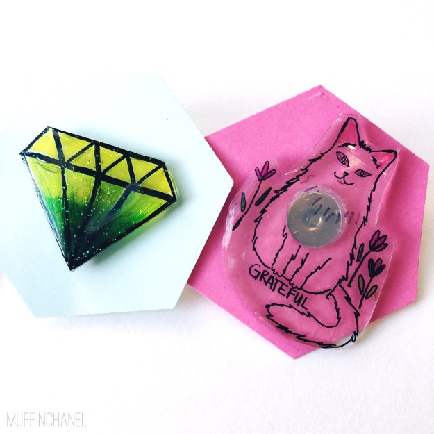 How To Make Cute Lapel Pins - MuffinChanel