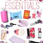 14 Spring Break Essentials