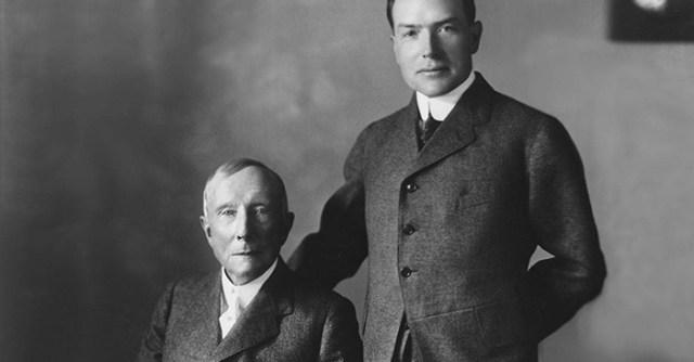 Rockefeller richest person in the world
