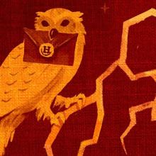ภาพปก Harry Potter eBooks และ Audio Books โดย Olly Moss