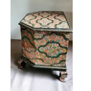 Classical handmade table / Wooden storage Chest