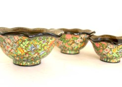 Serving lotus bowl set
