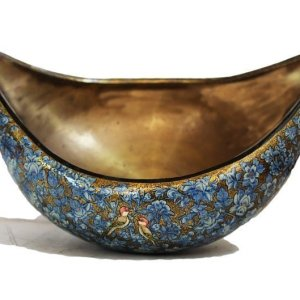 Blue mugal bowl/ Begger Bowl